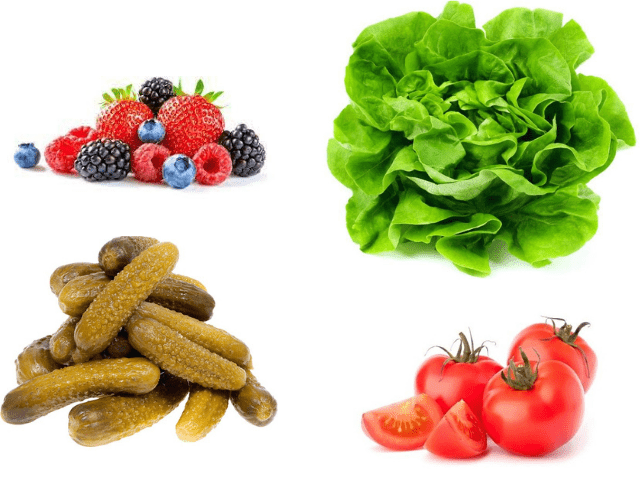alimentos muy bajos en calorías portada