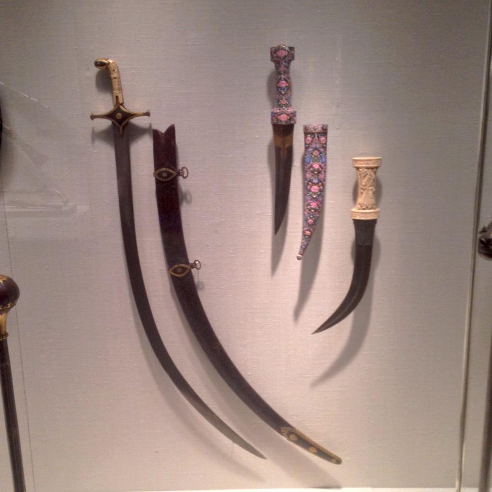 18th century Persisn weapons