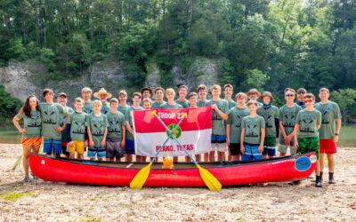 Buffalo River Canoe Trip 2019