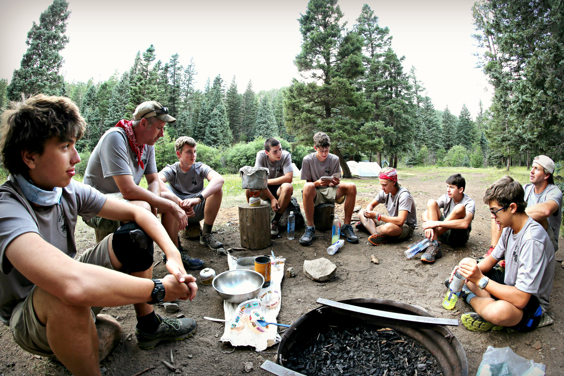 Camping at Philmont