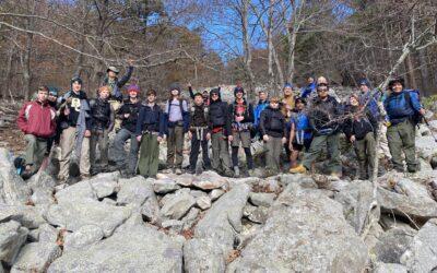 Ouachita Backpacking Trip – November 2020