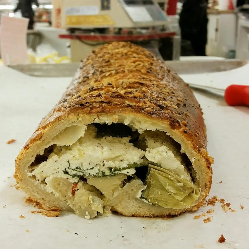 artichoke stuffed bread 4
