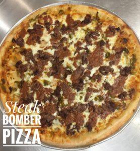 Steak Bomber Pizza