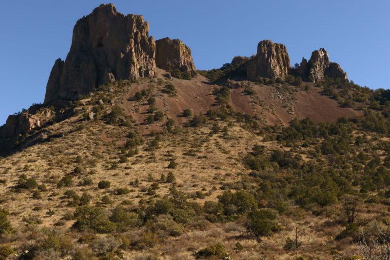 Big Bend National Park - Rock Pinnacles above the Pinnacle Trail