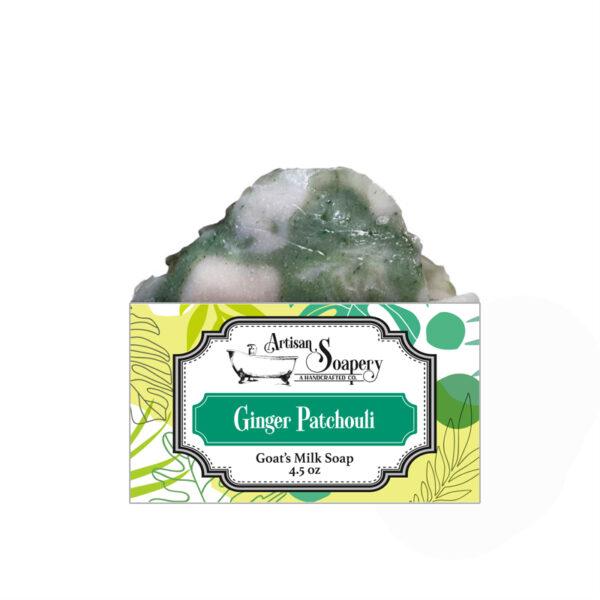 Ginger Patchouli Goat's Milk Soap