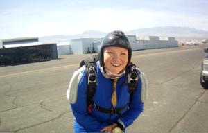 Katye-skidiving