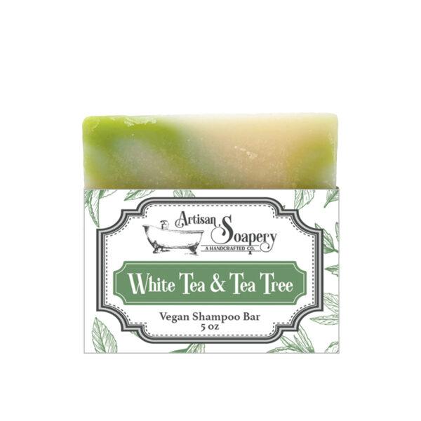 White Tea & Tea Tree Vegan Shampoo