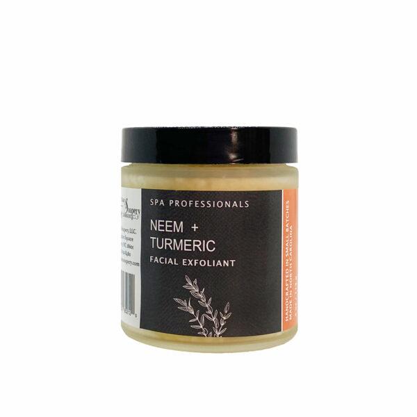 Neem +Turmeric Facial Exfoliant Product