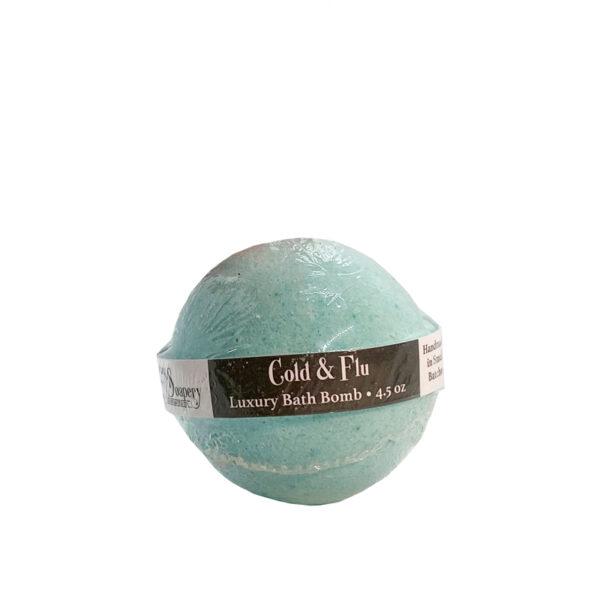 Cold & Flu Luxury Bath Bomb