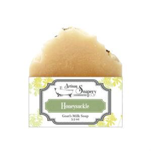 Honeysuckle Goat's Milk Soap