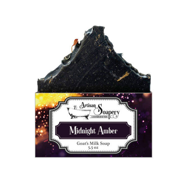 Midnight Amber Goat's Milk Soap