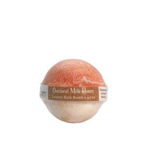 Oatmeal Milk Honey Luxury Bath Bomb
