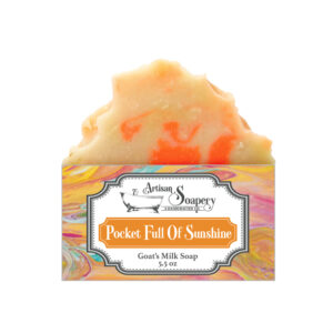 Pocket Full Of Sunshine Goat's Milk Soap
