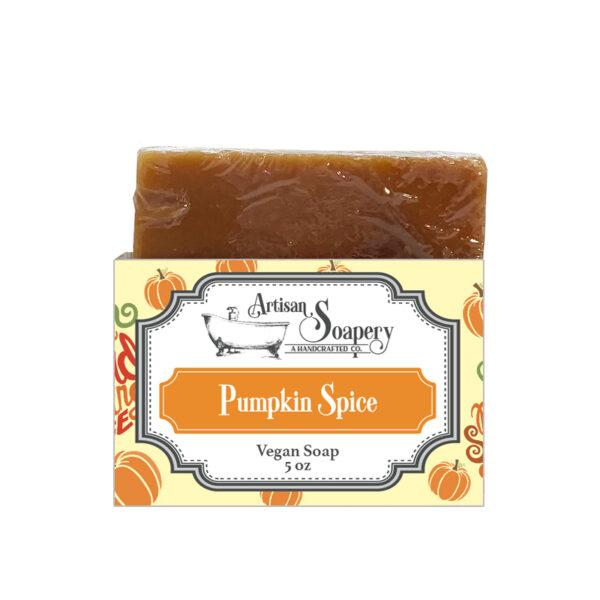 Pumpkin Spice Vegan Soap