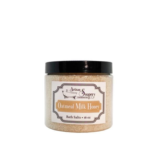 Oatmeal Milk Honey Bath Salts