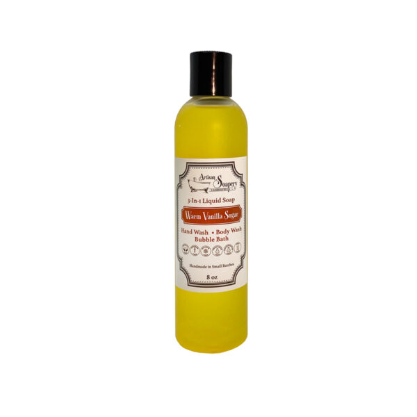 Warm Vanilla Sugar 3-in-1 Liquid Soap