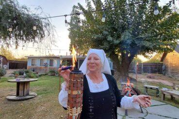 Samhain Season at the Abbey