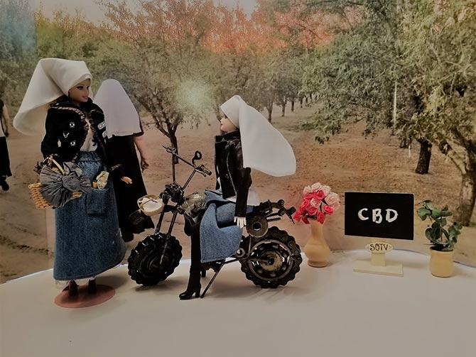 dolls dresses like non custom nuns