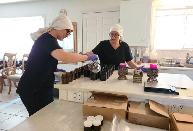 Sisters Preparing CBD