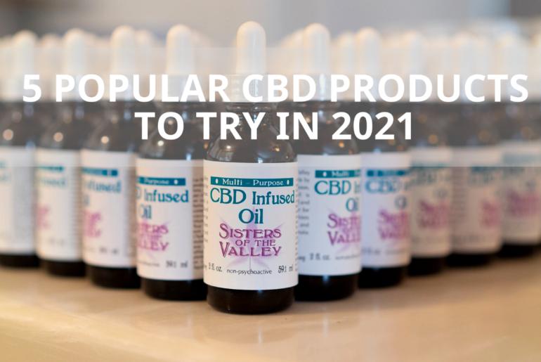 popular cbd products