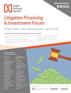 Litigation Financing & Investment Forum Brochure