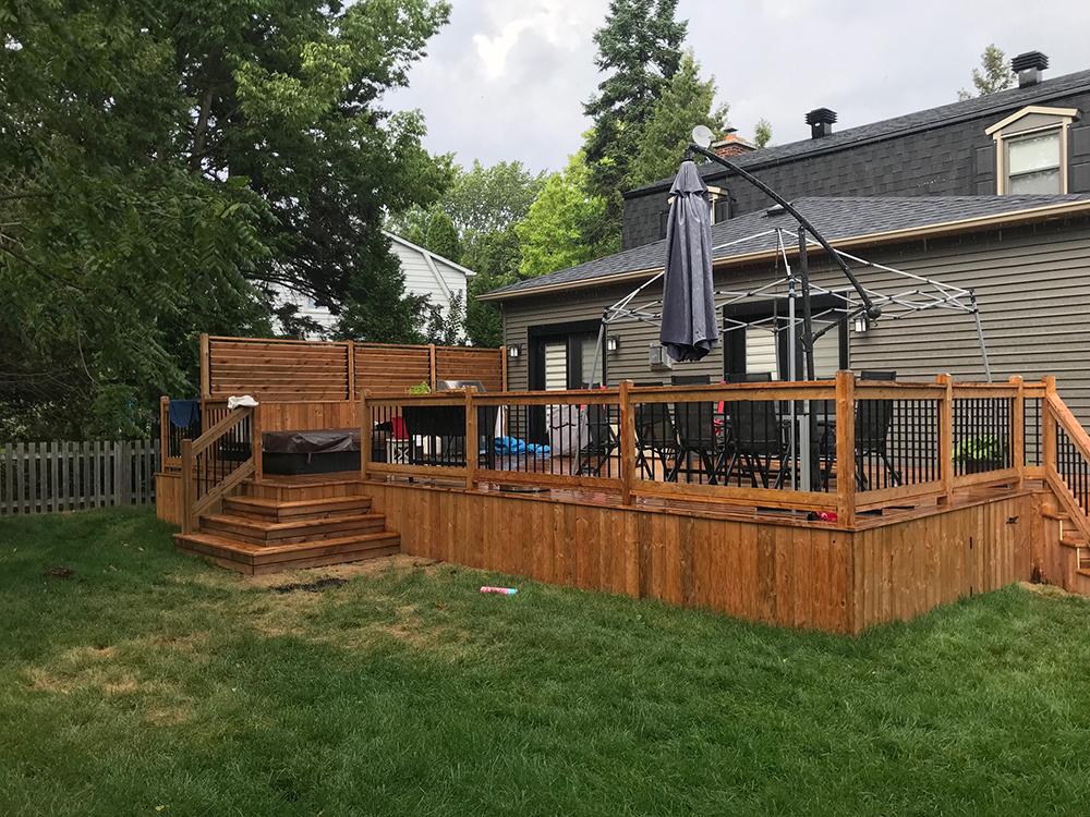 Montrose Deck Project