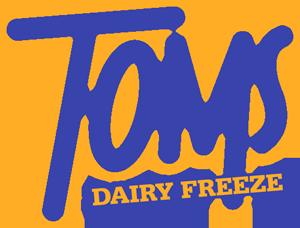 Toms Dairy Freeze Logo