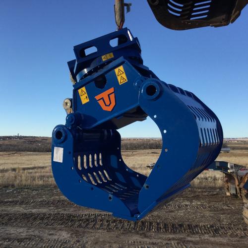 Excavator Rotating Attachment