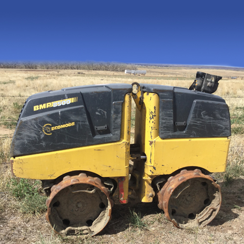 Bomag BMP 8500 Vibratory Sheepsfoot Compactor with Remote Control