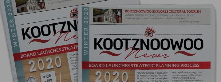 Kootznoowoo 2020 News Winter