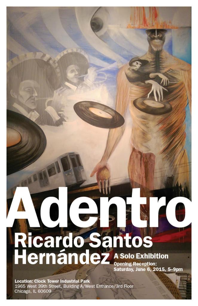 Adentro Exhibition Invite
