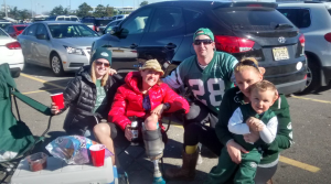 Niki-Rellon-at-Jets-game-with-Debbie-Hatch-and-Brooke-Artesi-Steve-Pezzetta-Nicco