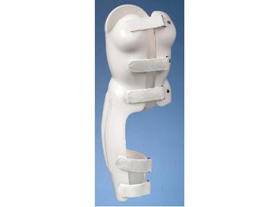 Boston Brace body jacket TLSO Hip Spica with integrated leg  (Thoracic Lumbar Spine) - custom fitted at Sunshine Prosthetics and Orthotics, Wayne NJ