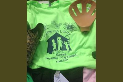 Camp No Limits tee shirt 2013 - Sunshine Prosthetics and Orthotics, Wayne NJ