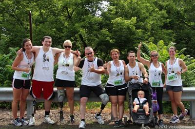 Team Sunshine at the Lincoln Park Triathlon 2013 - Sunshine Prosthetics and Orthotics, Wayne NJ