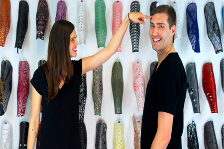 McCauley Wanner, Art Director & Ryan Palibroda, Technology Director - co-founders of the Alleles