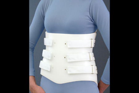 Spinal Technology LSO Bivalve orthosis - available through Sunshine Prosthetics and Orthotics, Wayne NJ
