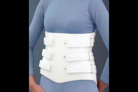 Spinal Technology LSO Bivalve orthosis - available through Sunshine Prosthetics and Orthotics, Wayne NJ