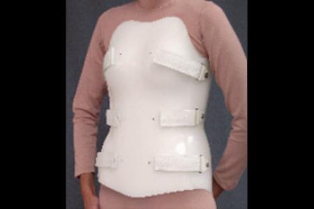 Spinal Technology TLSO Bivalve orthosis - available through Sunshine Prosthetics and Orthotics, Wayne NJ