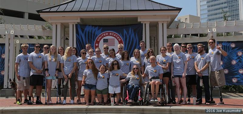 The 2016 Paralympic US Swim Team