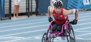 Alexa Halko, pictured at the 2016 U.S. Paralympic Team Trials, is the second-youngest member of the U.S. Paralympic Team heading to Rio.