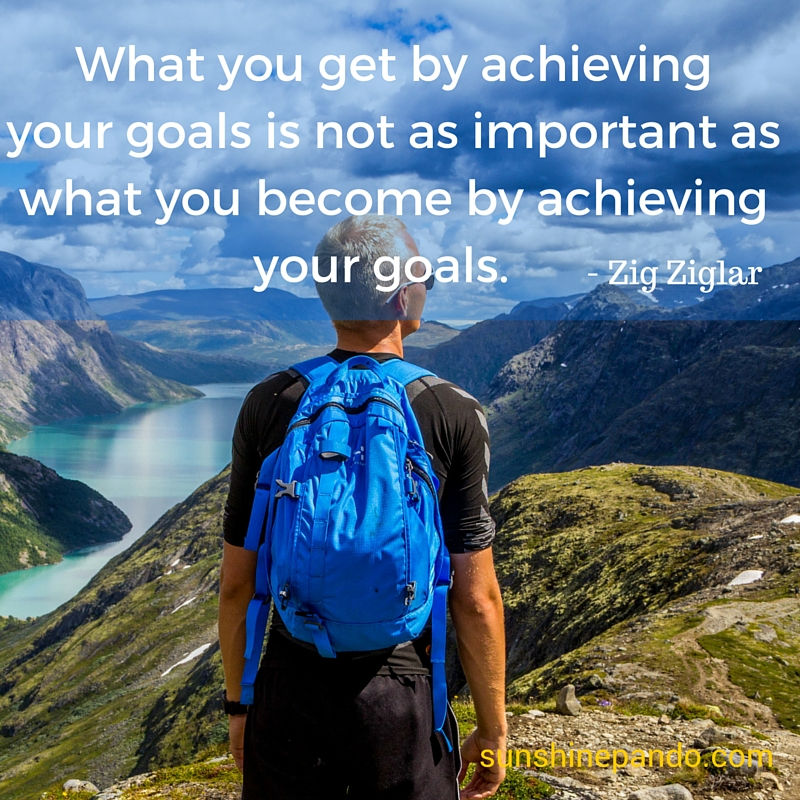 What you get by achieving your goals isn't as important as what you become. - Sunshine Prosthetics & Orthotics
