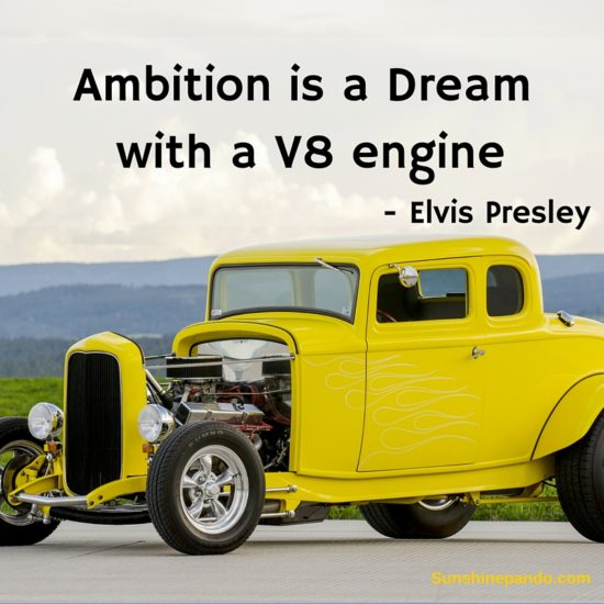 Ambition is a dream with a V-8 engine - Sunshine Prosthetics and Orthotics