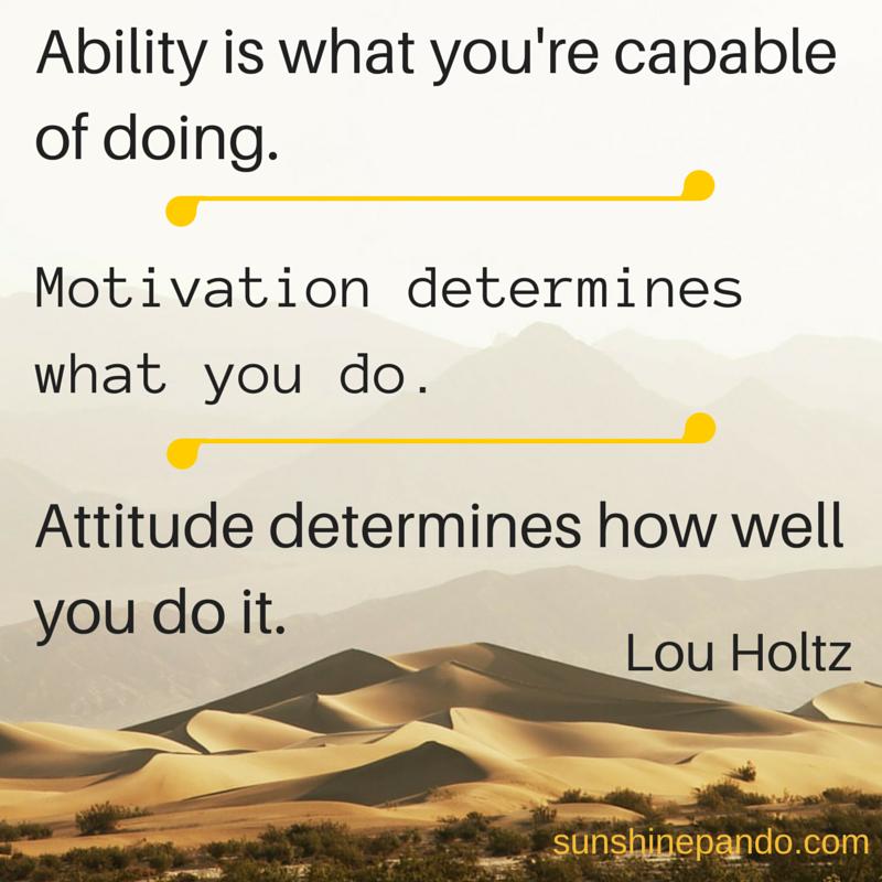 Ability - Motivation - Attitude   Sunshine Prosthetics & Orthotics