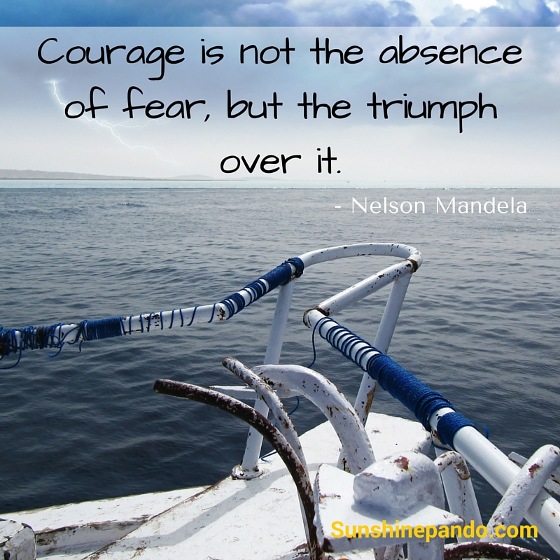 Courage is the triumph over fear  - Sunshine Prosthetics and Orthotics