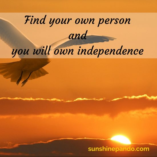 Find your own person and you will own independence - Sunshine Prosthetics and Orthotics