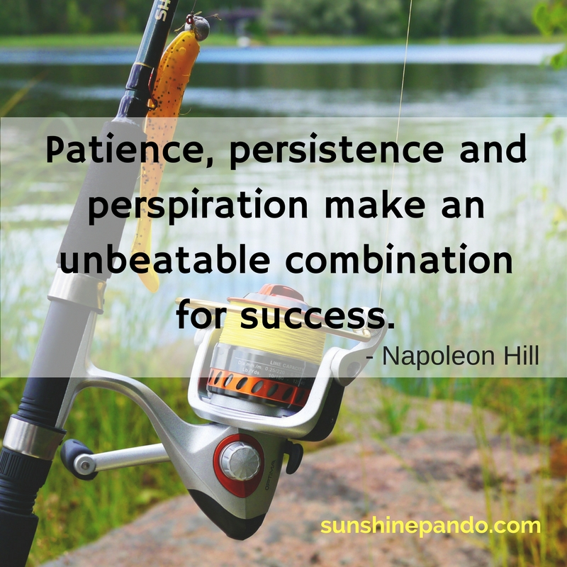 Patience, persistence and perspiration make an unbeatable combination for success - Sunshine Prosthetics & Orthotics