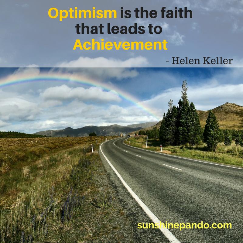 Optimism leads to Achievement - Sunshine Prosthetics and Orthotics