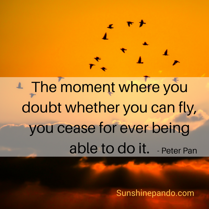 Never doubt you can fly - Sunshine Prosthetics and Orthotics