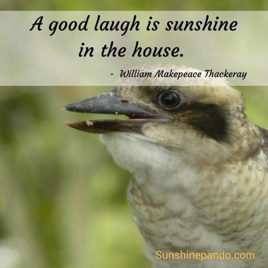 Laughter is Sunshine in the house - Sunshine Prosthetics and Orthotics